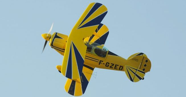 PITTS SPECIAL S2A JAUNE